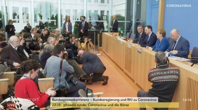 Bundespressekonferenz am 11. 3.2020
